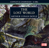 The Lost World BBC Audiobook cover.